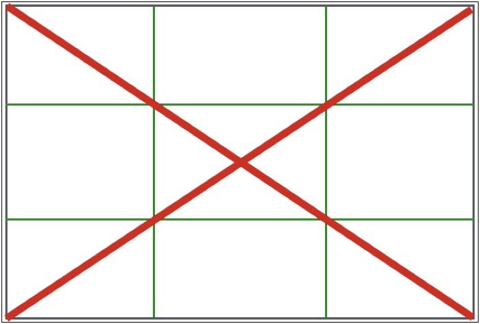 対角線構図